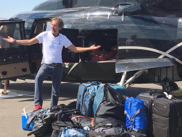 black rock helicopters luggage