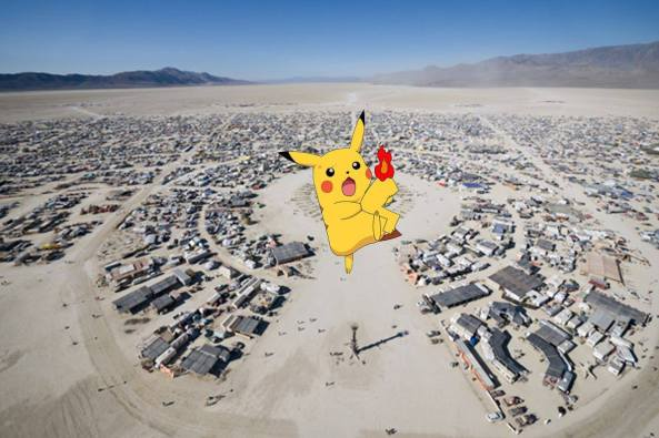 pokemon burning man