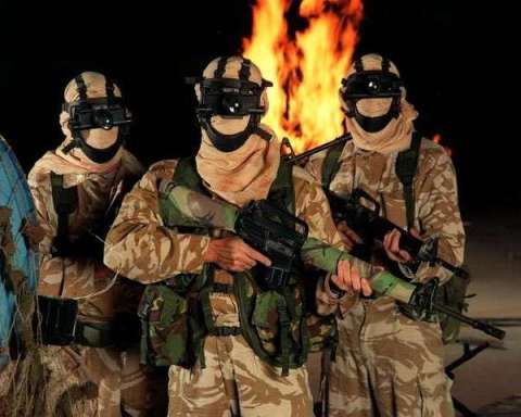 SAS Special Forces conspiracy