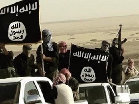 ISIS convoy in Libya