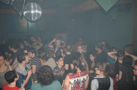 Много лесби в клубе