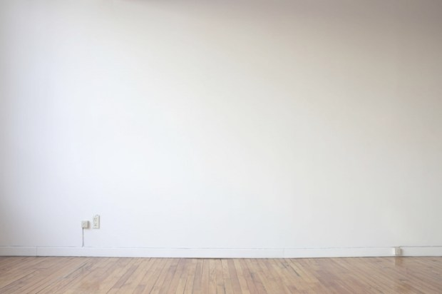 Dane Bradley's wall of nothingness.