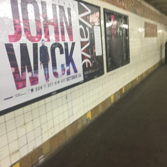 Omnipresent ads off every L train stop is all part of Keanu's master plan