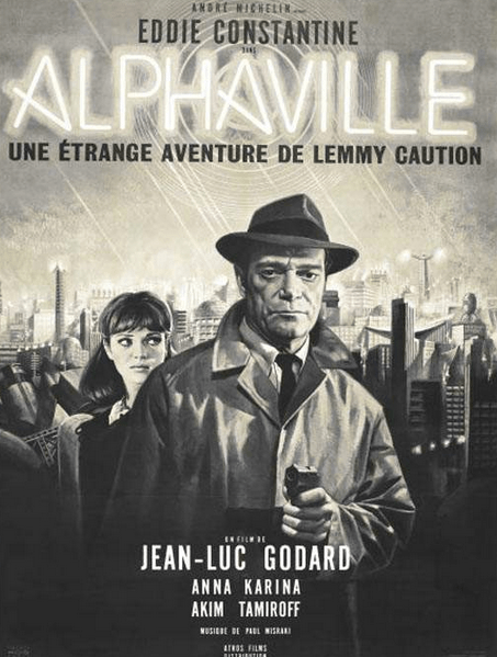 Promo poster for the original Alphaville