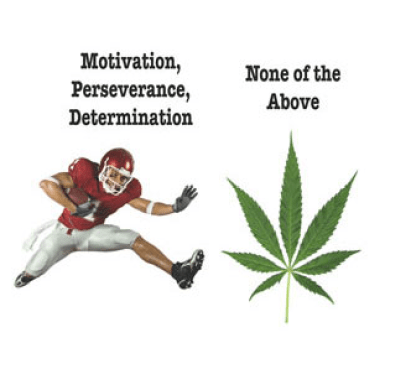 The Weed Bowl motto