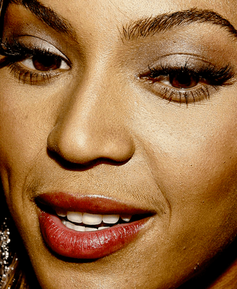 Even Beyonce has a predilection for the latest Bushwick trends of female mustaches and beards