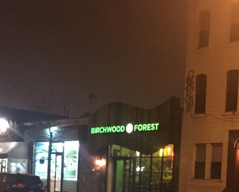 Exterior of Birchwood Forest