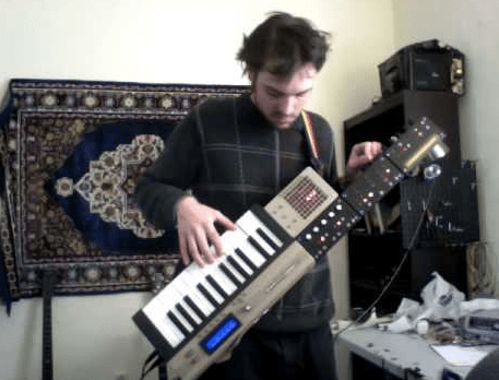 Resident Keytar Player At Silent Barn Draws In Hordes