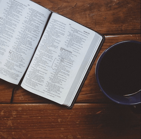 Coffee: check, Bible: check. What more does a Bushwickian need?