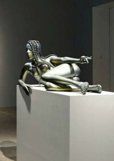 Juliana Huxtable's statue at the New Museum