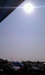 Oppressive Heat c/o The Sun