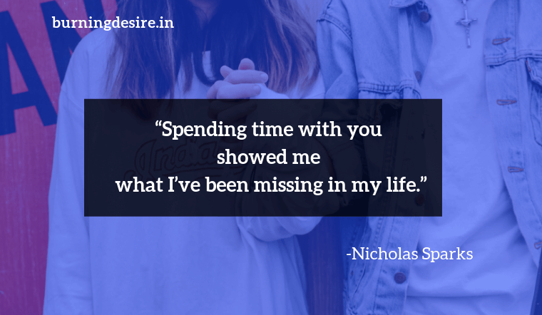 Nicholas Sparks quotes about couple