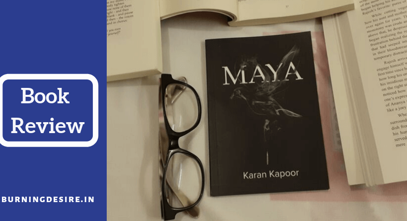 Maya book by Karan Kapoor