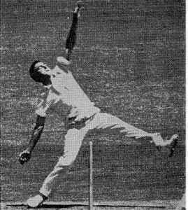 Gary Bartlett bowling