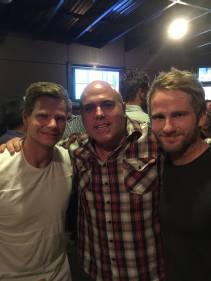 Three top blokes
