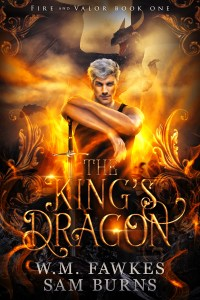 Book Cover: The King's Dragon