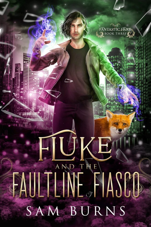Book Cover: Fluke and the Faultline Fiasco