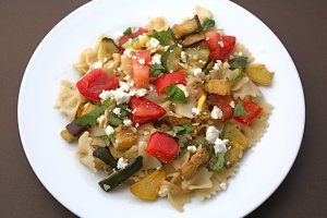 Grilled Vegetable and Pasta Salad
