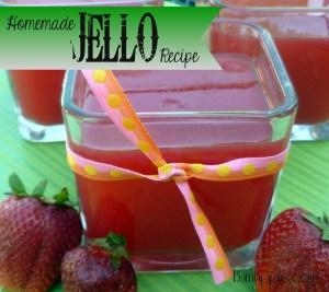 homemade jello recipe