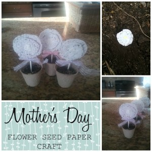 flower seed paper