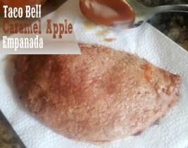 caramel apple empanada