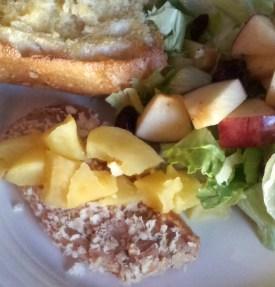 Breaded Applesauce Dijon Pork Chops
