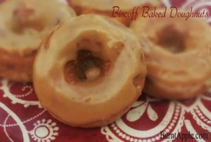 Baked Biscoff Donuts