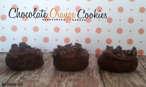 chocolate orange cookie