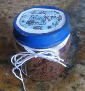 Chocolate Sugar Scrub