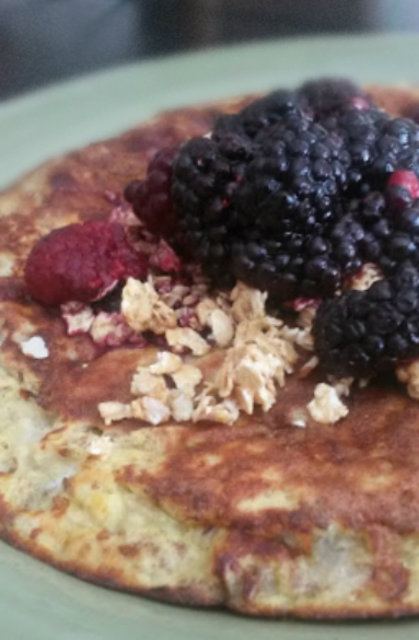 three ingredient pancakes