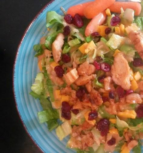 wingers grilled sticky finger salad