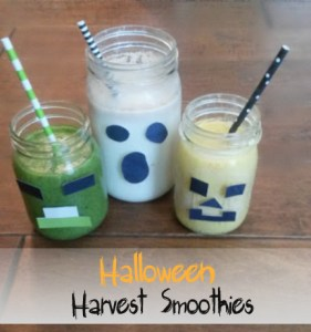 Halloween Harvest Smoothies