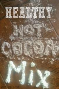 Healthy Hot Cocoa Mix