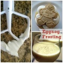 eggnog frosting