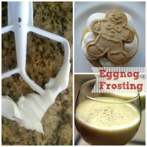 Eggnog Frosting - Burnt Apple