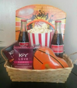 Closeness Through the Miles (Basketball Themed Valentines Day Basket)