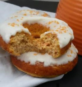 Baked Carrot Cake Donuts {Gluten Free}
