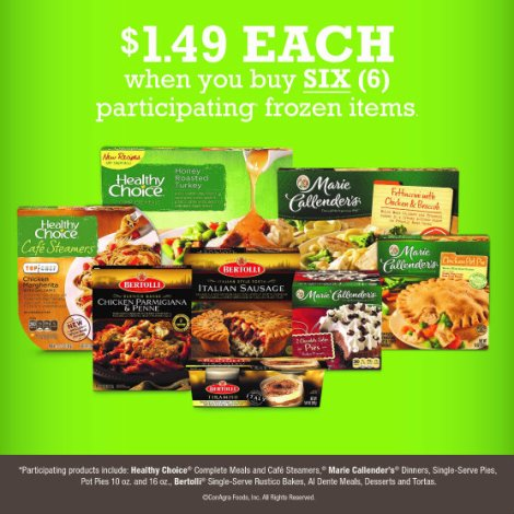 kroger frozen food sale