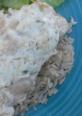 yogurt and herb chicken