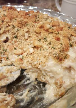 turkey and stuffing casserole