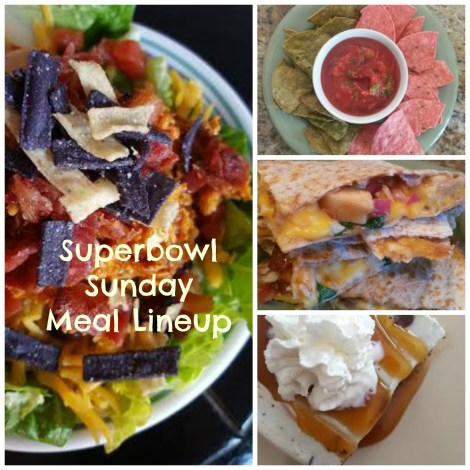 superbowl sunday menu