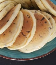 Classic Chocolate Chip Pancakes