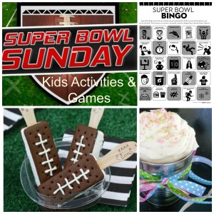 Superbowl Sunday Kid Activities
