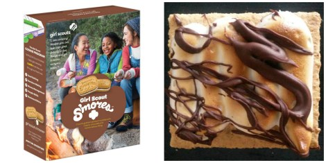 girl scout smore cookies
