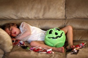 Kids Halloween Hangover +Shark Tank is my Equivalent of my Mom's HSN (I Don't Have a Problem)