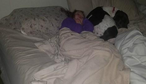 kid steals bed