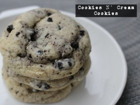 Cookies N' Cream Cookies