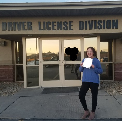 first drivers license