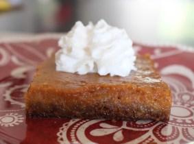 pumpkin pie sheet pan