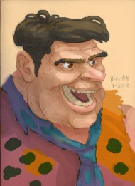 Fred_Flintstone_Portrait_@burntmoth19